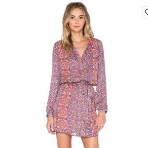 Joie Fiana shift dress in terra-cotta rose